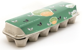 Organic Free Range Eggs, Ripe - 12 Box