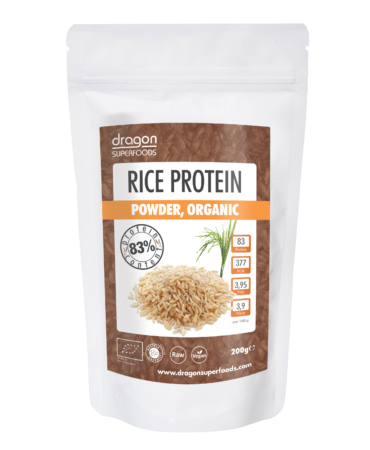 Rice Protein Powder, Dragon Superfoods