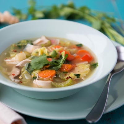Detox Immune-Boosting Soup