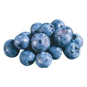 Ripe Organic Blueberries