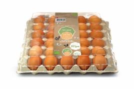 Ripe Organic Brown Danish Egg Tray 30pcs