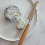 Organic Ash Goat Cheese, Ripe