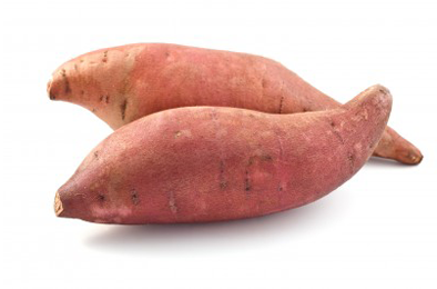 Ripe Organic Sweet Potato