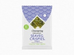 Organic Seaveg Crispies 8g, Clearspring