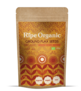Organic Flax Seeds Ripe