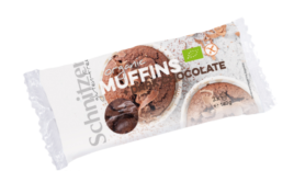 SCHNITZER ORGANIC MUFFIN DARK CHOCOLATE 140G
