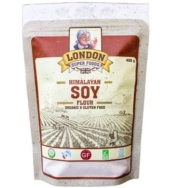LONDON SUPERFOODS ORGANIC SOY FLOUR 300G