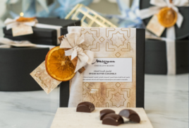 SPICED BUTTER CARAMELS  GIFT BOX OF 16