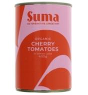 SUMA ORGANIC CHERRY TOMATOES 400G
