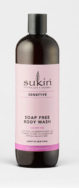 Sensitive Soap Free Body Wash, Sukin