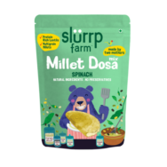 Supergrain Spinach Millet Dosa Mix, Slurrp Farm