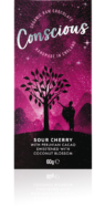 CONSCIOUS SOUR CHERRY RAW BAR 60G