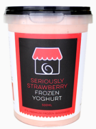 Strawberry Frozen Yoghurt, The Yoghurt Shop