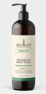 Botanical Body Wash, Sukin