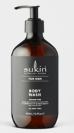 Men's Body Wash, Sukin