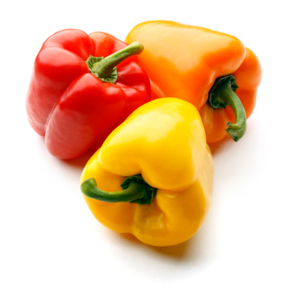 Ripe Organic Capsicum, mixed colours