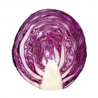 Ripe Organic Cabbage, Red