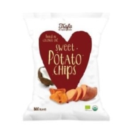 Organic Sweet Potato Crisps, Trafo