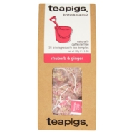 TEAPIGS RHUBARB & GINGER 15 TEMPLES