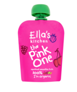 The Pink One Smoothie 90g, Ellas Kitchen