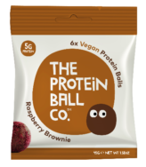 Raspberry Brownie, Protein Ball Co