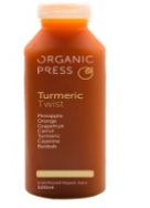 Turmeric Twist, Organic Press