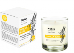 Vanilla Bliss -Natural Wax Scented Candle, Nohea