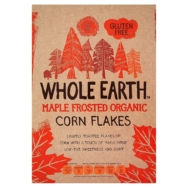 Organic Maple Frosted Flakes, Whole Earth