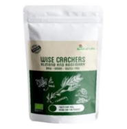 WISE CRACKERS ALMOND AND ROSEMARY 50G