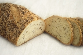 Wheat Three Seed Bread 400g