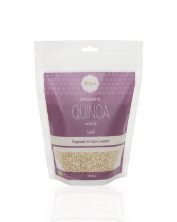 White Quinoa, Ripe