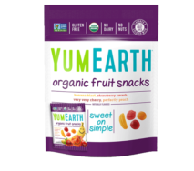 YUM EARTH ORGANIC FRUIT SNACKS 57G