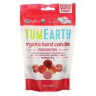 YUM EARTH ORGANIC HARD CANDIES 93.6G
