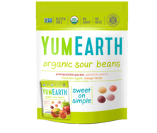 YUM EARTH ORGANIC SOUR BEANS 71G