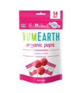 YUM EARTH ORGANIC STRAWBERRY POPS 14PCS 87G