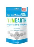 YUM EARTH ORGANIC HARD CANDIES PEPPERMINT 93.6G