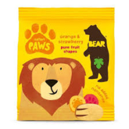 Organic Paws Safari Orange & Strawberry, Bear