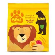 Organic Paws Safari Orange & Strawberry, Bear