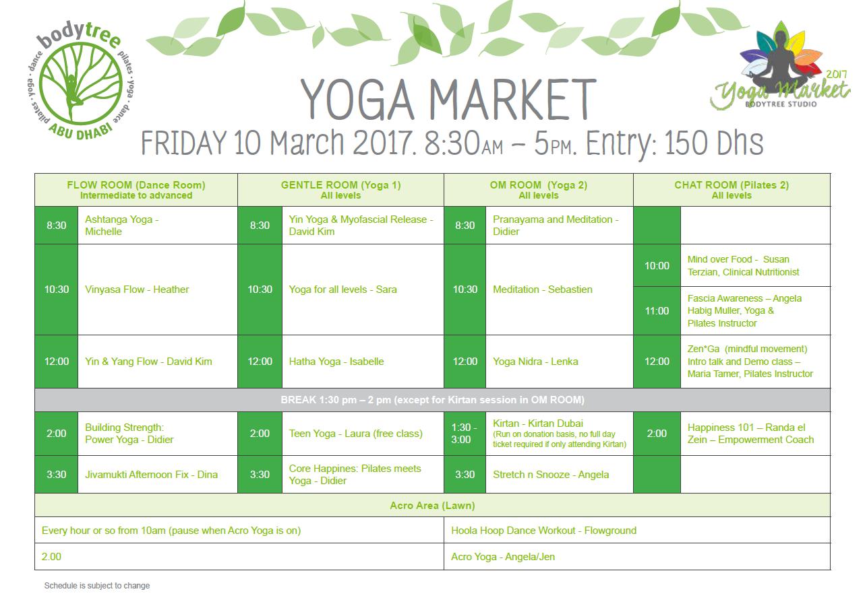 Yoga Market
