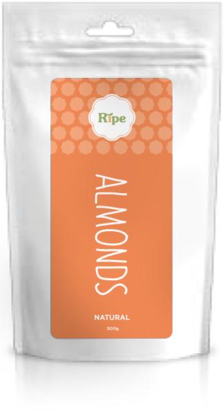 Almonds, Ripe