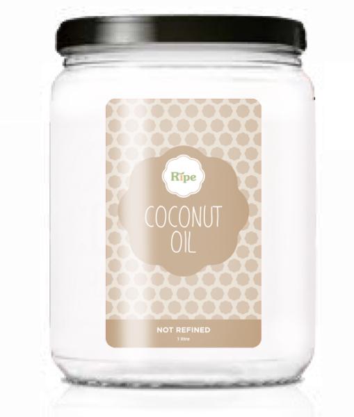Coconut oil, Ripe