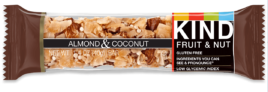 Almond & Coconut bar, Be Kind