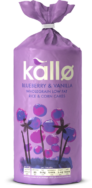 Jumbo Blueberry Vanilla Rice Cake, Kallo