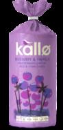 Jumbo Blueberry Vanilla Rice Cake, Kallo