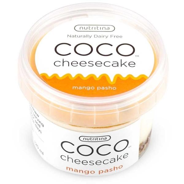 Mango Passion Cheesecake, Coco Yogo