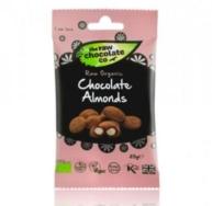 RAW CHOC CO ORGANIC CHOCOLATE ALMONDS 25G