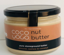 Raw Cashew Almond Coconut Butter, Coco Yogo