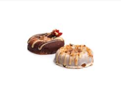 Rawnuts Choco Donuts, Coco Yogo