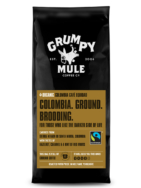 GRUMPY MULE ORGANIC COLOMBIA GROUND COFFEE 227G