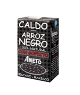 Cooking Base Squid Ink Paella 1l, Aneto